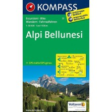 Alpi Bellunesi - Kompass 77