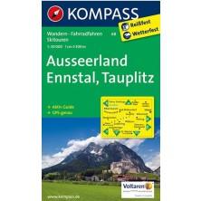 Ausseerland, Ennstal, Tauplitz - Kompass 68