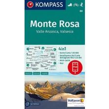 Monte Rosa - Kompass 88