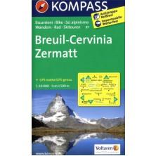 Breuil-Cervinia, Zermatt - Kompass 87