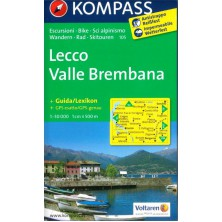 Lecco, Valle Brembana - Kompass 105