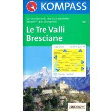 Le Tre Valli, Bresciane - Kompass 103