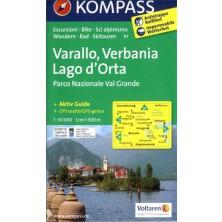 Varallo, Verbania, Lago di Orta - Kompass 97