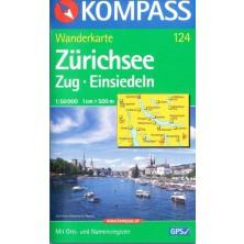 Zürichsee - Kompass 124