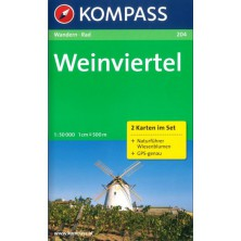 Weinviertel - set 2 map - Kompass 204