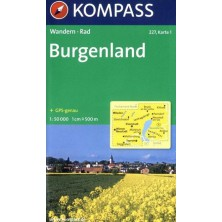 Burgenland - set 2 map - Kompass 227