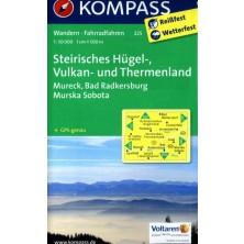 Steirisches Hügel-, Vulkan- u.Thermenland - Kompass 225