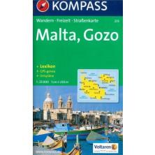 Malta, Gozo - Kompass 235