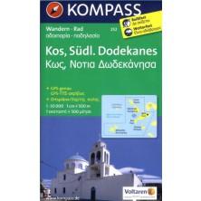 Kos Südlicher Dodekanes - Kompass 252