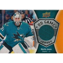 Jones Martin - 2016-17 Upper Deck Game Jerseys No.GJ-MJ