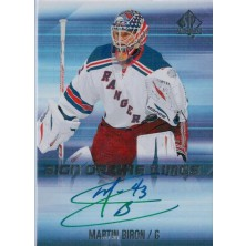 Biron Martin - 2015-16 SP Authentic Sign of the Times No.SOTT-MB
