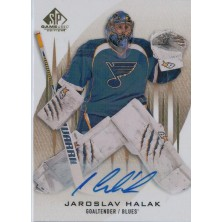 Halák Jaroslav - 2013-14 SP Game Used Gold Autographs No.19