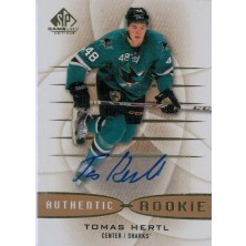 Hertl Tomáš - 2013-14 SP Game Used Gold Autographs No.135