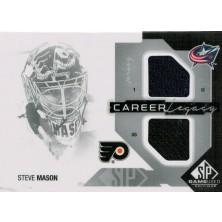 Mason Steve - 2014-15 SP Game Used Career Legacy Jerseys - black No.CL-SM