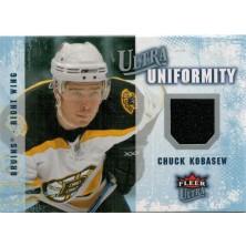 Kobasew Chuck - 2008-09 Ultra Uniformity No.UA-CK