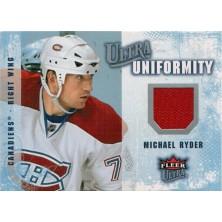 Ryder Michael - 2008-09 Ultra Uniformity No.UA-RY
