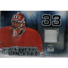 Roy Patrick - 2015-16 Leaf ITG Enshrined Retired Numbers Silver No.RN-28