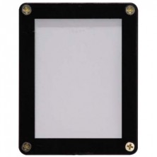 1-Card Black Frame Screwdown Holder