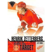 Zetterberg Henrik - 2002-03 Titanium Right on Target No.7