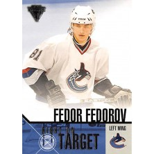 Fedorov Fedor - 2002-03 Titanium Right on Target No.20