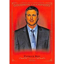 Roy Patrick - 2016-17 Goodwin Champions Royal Red No.7