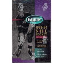 Balíček Parkhurst 1993-94 series one