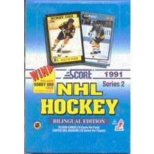 Balíček Score Canadian Bilingual 1991-92 Series 2