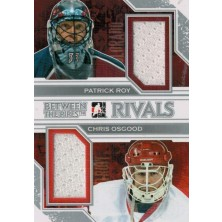 Roy Patrick, Osgood Chris - 2013-14 Between the Pipes Rivals Jerseys Silver No.R04