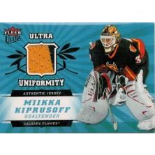 Kiprusoff Miikka - 2006-07 Ultra Uniformity No.U-MK