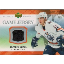 Lupul Joffrey - 2007-08 Upper Deck Game Jerseys No.J-LU