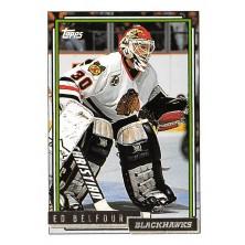Belfour Ed - 1992-93 Topps Gold No.22