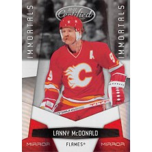 McDonald Lanny - 2010-11 Certified Mirror Red No.168