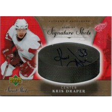 Draper Kris - 2006-07 Sweet Shot Signature No.SS-KD