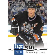 Jágr Jaromír - 2018-19 Upper Deck Jagr Years No.JJ12