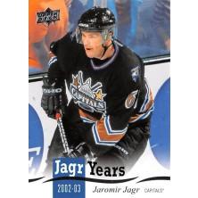 Jágr Jaromír - 2018-19 Upper Deck Jagr Years No.JJ13