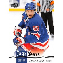 Jágr Jaromír - 2018-19 Upper Deck Jagr Years No.JJ15