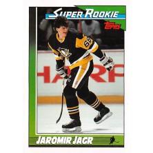 Jágr Jaromír - 1991-92 Topps No.9