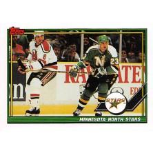 Minnesita North Stars - 1991-92 Topps No.44
