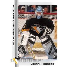 Hedberg Johan - 2000-01 BAP Memorabilia No.502