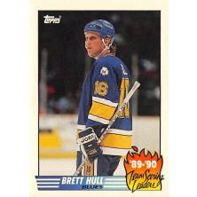 Hull Brett - 1990-91 Topps Team Scoring Leaders No.2