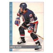 Volek David - 1992-93 O-Pee-Chee No.3