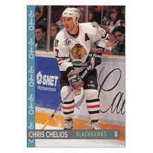Chelios Chris - 1992-93 O-Pee-Chee No.13