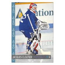 Cloutier Jacques - 1992-93 O-Pee-Chee No.113