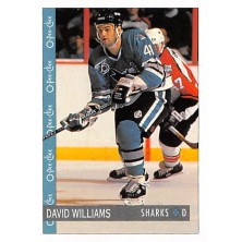 Williams David - 1992-93 O-Pee-Chee No.250