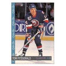 Fitzgerald Tom - 1992-93 O-Pee-Chee No.394
