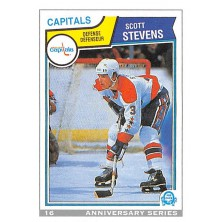Stevens Scott - 1992-93 O-Pee-Chee 25th Anniversary No.16