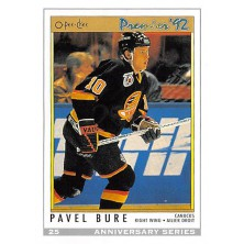 Bure Pavel - 1992-93 O-Pee-Chee 25th Anniversary No.25