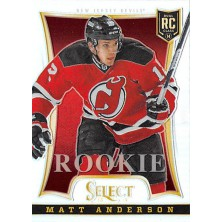 Anderson Matt - 2013-14 Rookie Anthology Select Update Prizms No.370