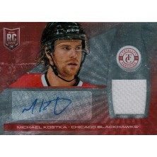 Kostka Michael - 2013-14 Totally Certified Rookie Autograph Jerseys Platinum Red No.221