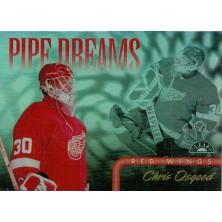 Osgood Chris - 1997-98 Leaf Pipe Dreams No.14